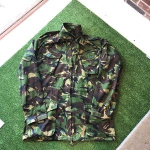 NATO cammo combat smock XXL cold weather